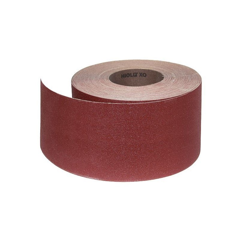 Abrasive Roll Cloth, backed 100 mm x 25 m antistatic