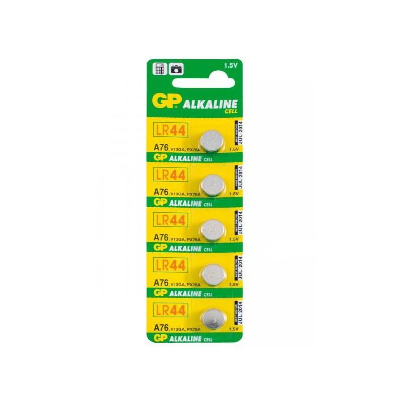 Battery LR44/A76 Alkaline, GP Batteries, 2pcs