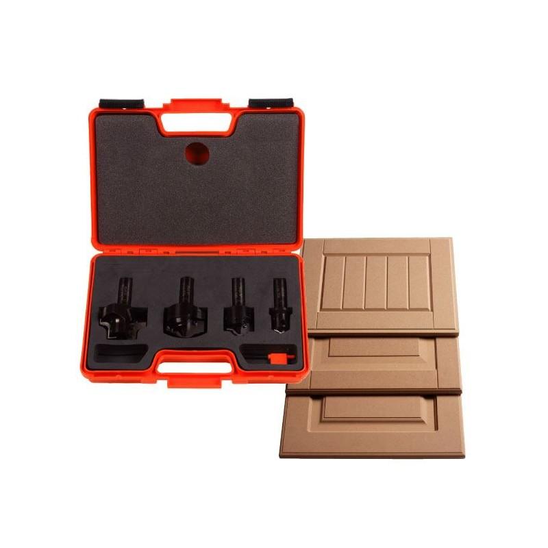 4pc Door Set C615, CNC S20 mm