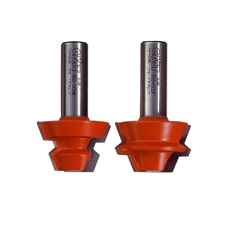 Lock Mitre set 22,50-45° - D37,3x22,2 22,5° S8 CMT