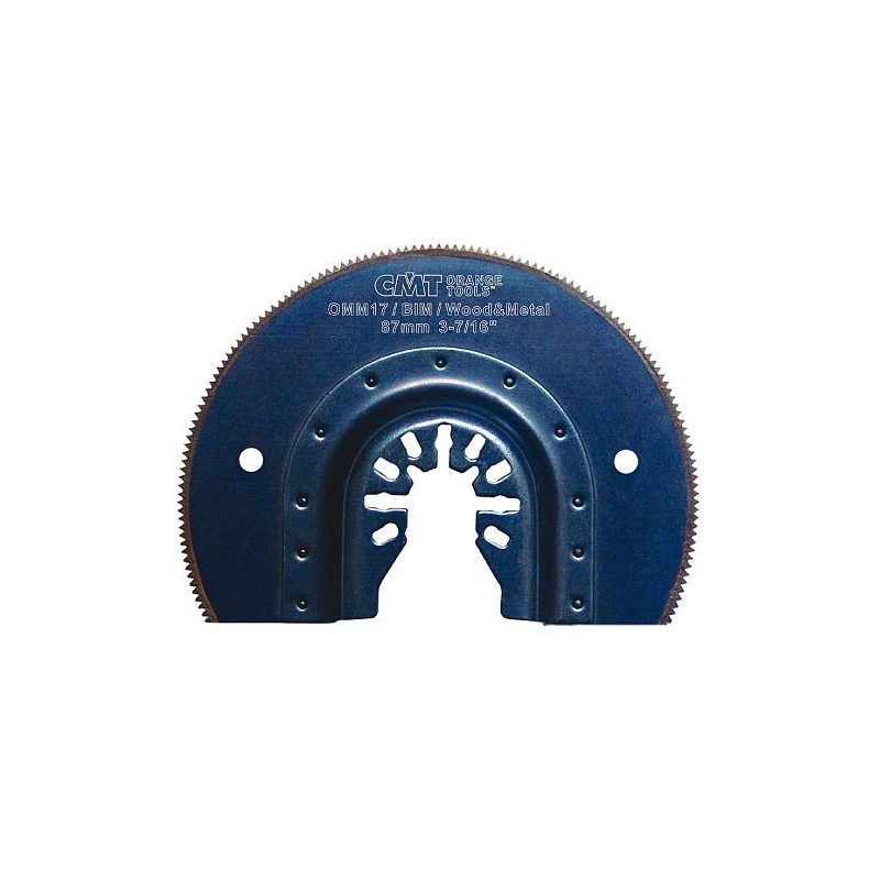 CMT Plunge and Flush Saw Blade BIM, for wood, metal - 87 mm
