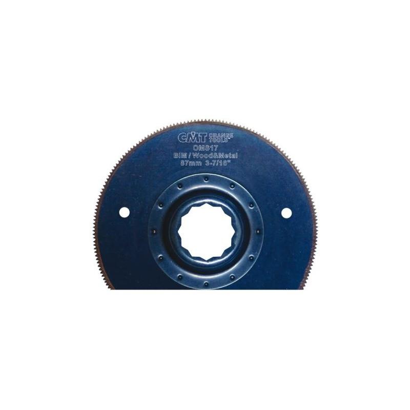 CMT Plunge and Flush Saw Blade BIM, for wood, metal - 87 mm, for Fein, Festool