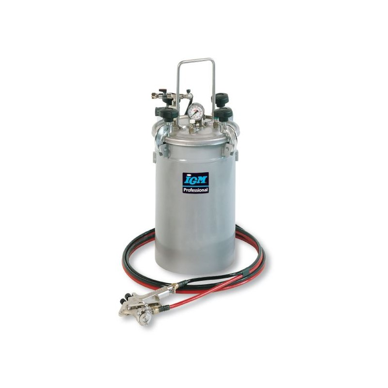 IGM 1094 Stainless Glue Feeder for Adhesives and Paints, Sprayable, 12 kg