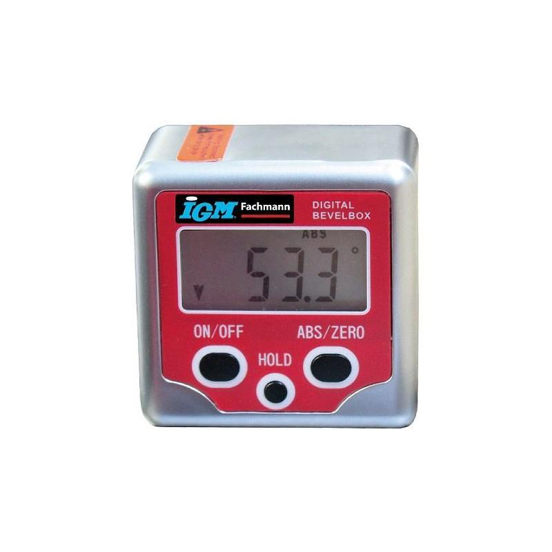 IGM Fachmann Digital Bevel Box + - 180°, Resolution 0,1°