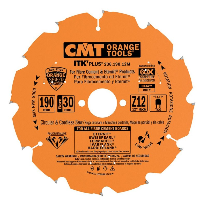 CMT Diamond Saw Blade for Ultra Hard Materials