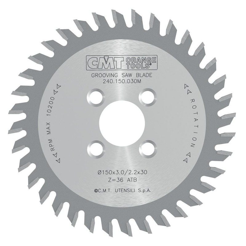 CMT Grooving Saw Blade for CNC