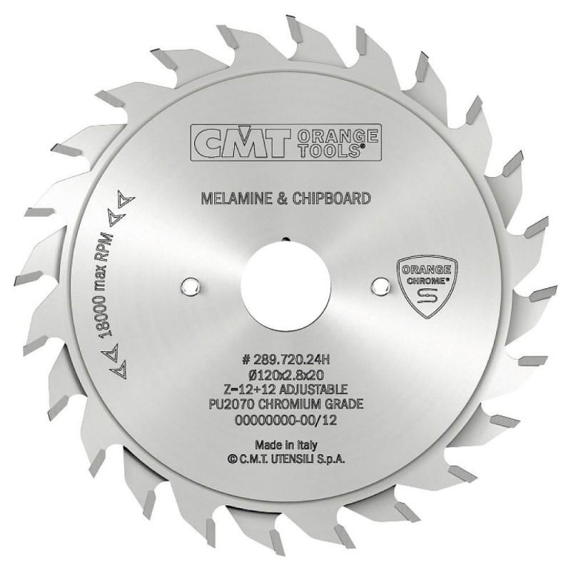 CMT CHROME Adjustable Scoring Blade