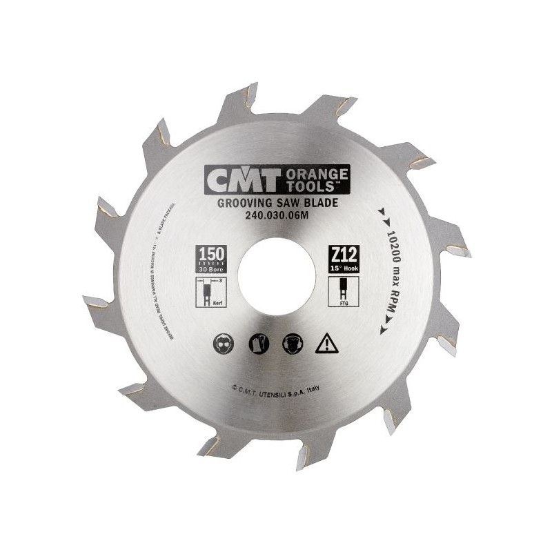 CMT Industrial Grooving Saw Blade