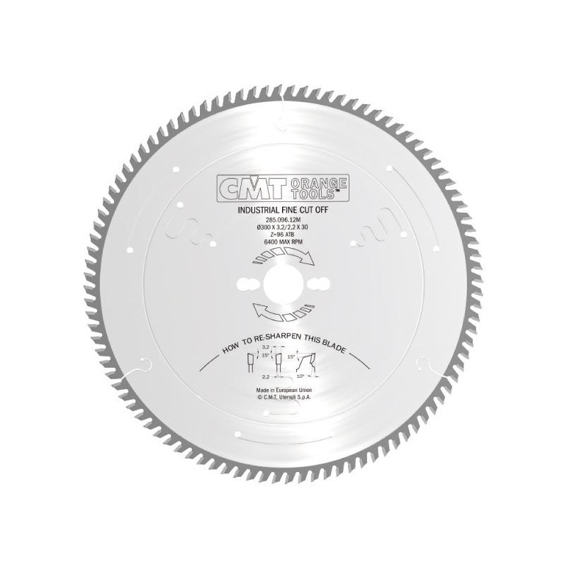 CMT Industrial Fine Finishing Saw Blade