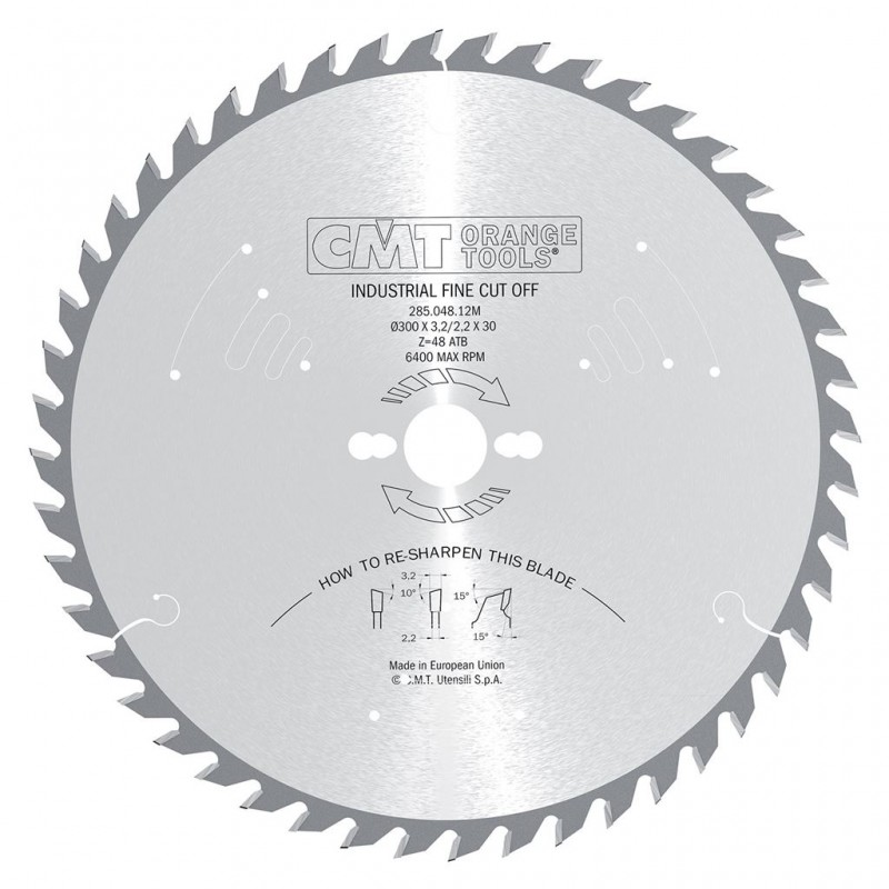 CMT Industrial Rip and Crosscut Saw Blade