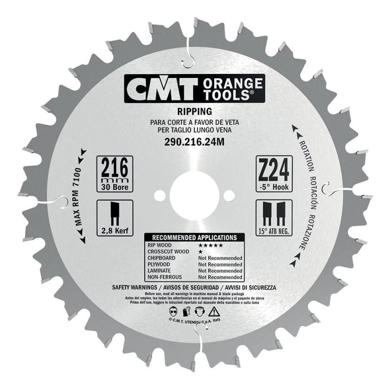 CMT Industrial Rip Saw Blade