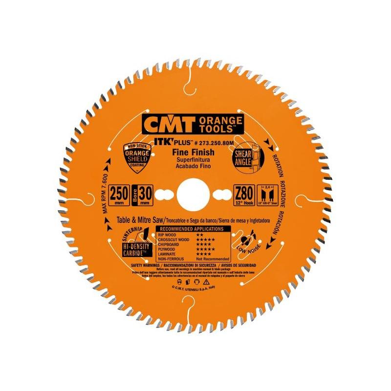 CMT ITK Ultra Thin-Kerf Fine Cut-off Saw Blade