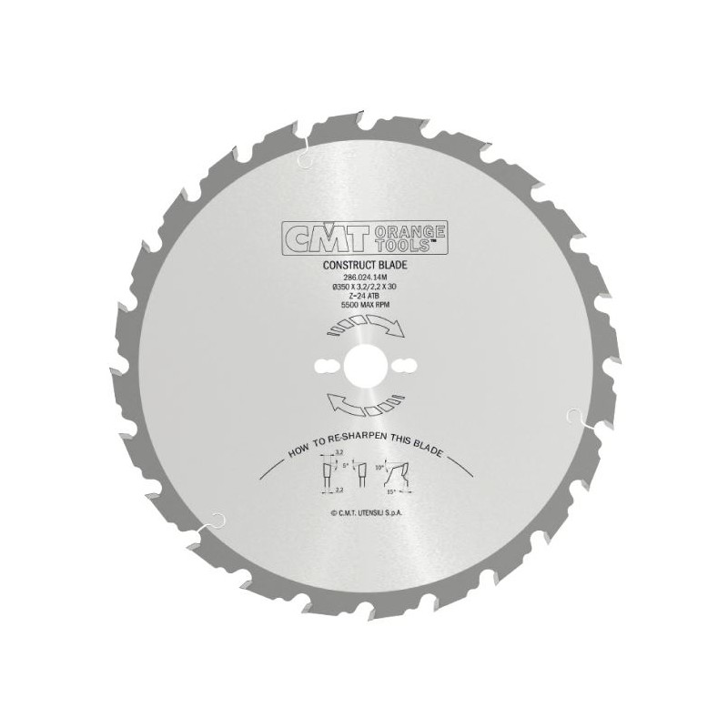 CMT Saw Blade for Building Contractors