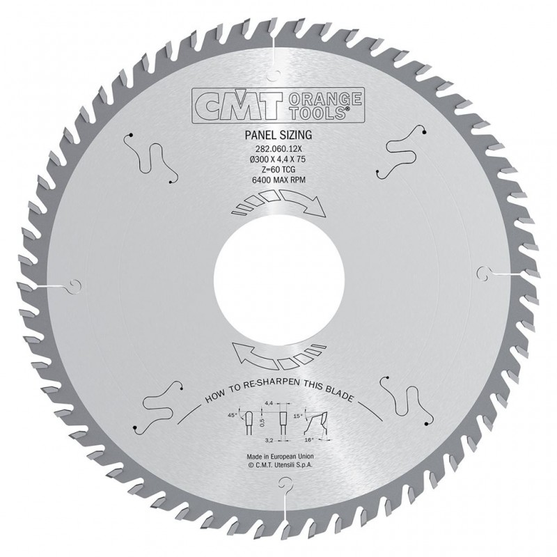 CMT Panel Sizing Saw Blade