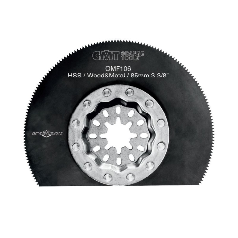 CMT Starlock Radial Saw Blade HSS for Metal & Wood