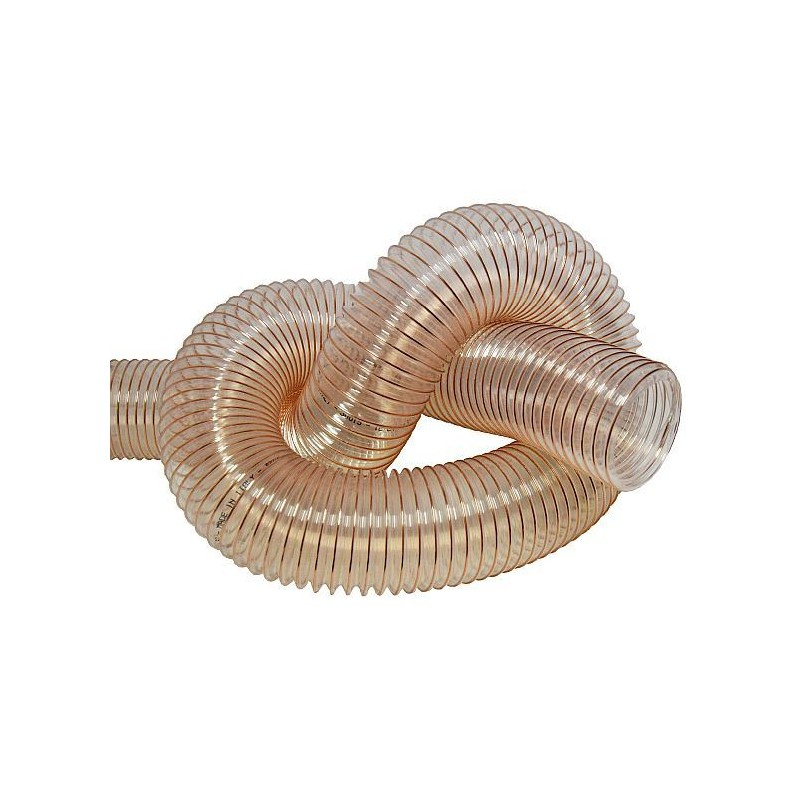 Transparent Extraction Hose for 100 mm outlet
